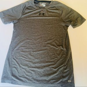 EUC Under Armour Boys XLarge Grey T-shirt